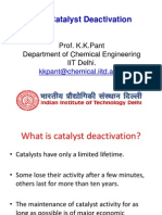 CRE L17 Catalyst Deactivation