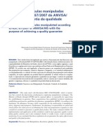 Análise das cápsulas manipuladas segundo RDC 67