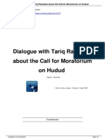 Dialogue With Tariq Ramadan About the Call for Moratorium on Hudud