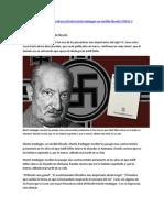 ART- Semana- Martin Heidegger, un terrible filósofo