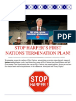 Stop Harper Termination Plan Hand Out Feb 2014