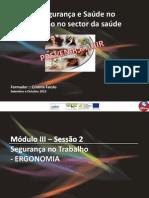 SHST Modulo3 Sessão2 - ST. Ergonomia