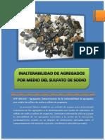Laboratorio de Inalterabilidaddel Sulfato
