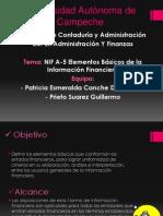 NIF A-5 Elementos Basicos Presentacion