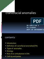 Craniofacial Anomalies Seminar