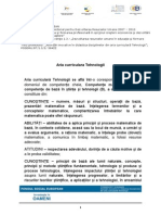 S4 M1 Aria Curriculara Tehnologii