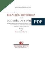 J.M. Montero de Espinosa - Relación Histórica de la Judería de Sevilla