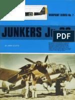 (Warpaint Series No.7) Junkers Ju 88