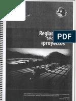 Reglamento Técnico de Proyectos