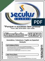 16_04_2011 - SIMULADO UESPI - COMUNICAÇÃO