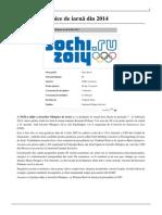 Jocurile Olimpice de iarnă din 2014