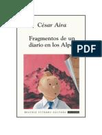 159249087 Aira Cesar Fragmentos de Un Diario en Los Alpes Doc