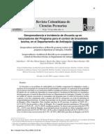 Brucella Sp en Vacunadores_Antioquia_Reyes_2010