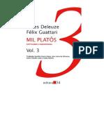 Mil Platos 3