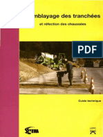 9.Remblayage Tranchees Refection Chaussees