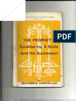 The PROPHET's Establishing a State and His Succession (Drmhamidullah.com)