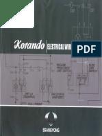 Electric Schemes for Korando