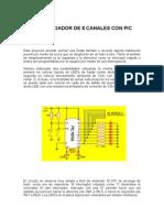 SECUENCIADOR DE 8 CANALES CON PIC.doc