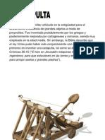 Tiro Parabolico (Catapulta)