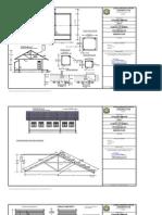 Gambar Rencana Bangunan PAUD Kecubung - Desa Buyumpondoli Kec. Pamona Puselemba - 2014