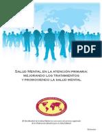 Salud Mental y Atención Primaria DMSM  2009