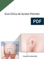 Guía Clínica de Quistes Pilonidal