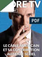 More TV - Supplément - Le câble américain et sa contribution au genre sériel