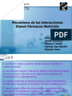 Interacciones Etanol Medic Nutrientes