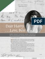 Prologue Magazine - 'Dear Harry, Love Bess'