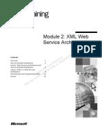WebService Architechture