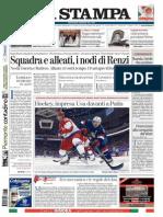 La Stampa - 16.02.2014