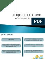 Flujo de Efectivo Método Directo e Indirecto