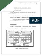Configuracion de Espacio en Oracle