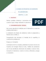 FABRICACIÓN Y CURADO DE PROBETAS DE HORMIGÓN