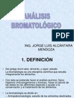 ANALISIS BROMATOLOGICO