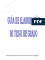 Guia de Elaboracion de Proyectos 2013