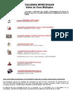 TALLERES MUNICIPALES curso 2009-2010
