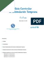 Guia Estimulacion Temprana UNICEF