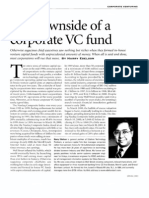 Corporate VC Fund