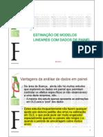 Dados em painel (análise)