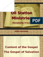 Oil Station Ministries - Content of the Gospel - The Gospel of Salvation