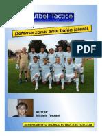Defensa zonal ante balón lateral