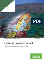 SEB Eastern European Outlook October 2009 (english)