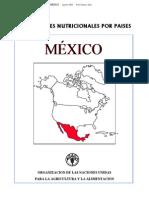 FAO - PERFILES NUTRICIONALES POR PAISES MEXICO