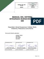Manual de Sistema Integrado de Gestion Mina