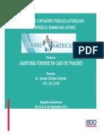 Auditoria Forense en Caso de Fraudes - Genaro Soriano