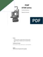 Manual Teodolito Eletrônico_DT200 FOIF