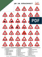 Tabla1 Znaci Za Opasnost