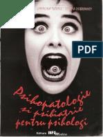 Psihopatologie Si Psihiatrie Pt Psihologi-Tudose