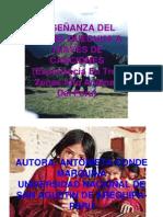Enseñanza del quechua a través de canciones